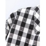Plus Size Fleece Lined Checked Shirt deal