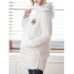 Patch Padded Hooded Coat deal