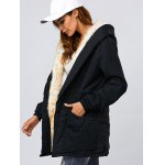 Double Pocket Parka Long Jacket with Hood deal