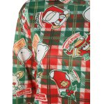 Plaid Christmas Print Sweatshirt for sale