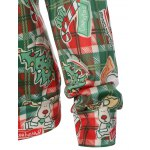 best Plaid Christmas Print Sweatshirt