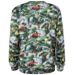 cheap Christmas Tree 3D Print Pullover Sweatshirt
