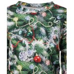 Christmas Tree 3D Print Pullover Sweatshirt deal