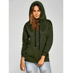 Active Side Zipper Drawstring Hoodie for sale