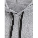 Casual Back Slit Hoodie for sale