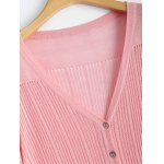 Buttoned Slimming Cardigan deal