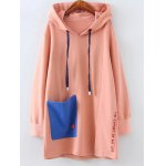 Pocket Plus Size Pullover Hoodie