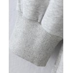 Pocket Plus Size Pullover Hoodie deal