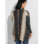 Jacquard Ethnic Style Loose Cardigan deal