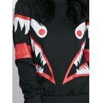 best Shark Mouth Graphic Sweatshirt