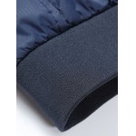 Stand Collar Zipper-Up Pocket Thermal Jacket for sale