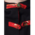 Vintage Chinese Button Hooded Coat photo