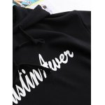Graphic Print Patchwork Hoodie deal