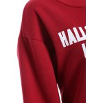 Pullover Letter Print Thicken Sweatshirt for sale