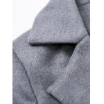 Fitted Twin Pockets Wool Coat deal