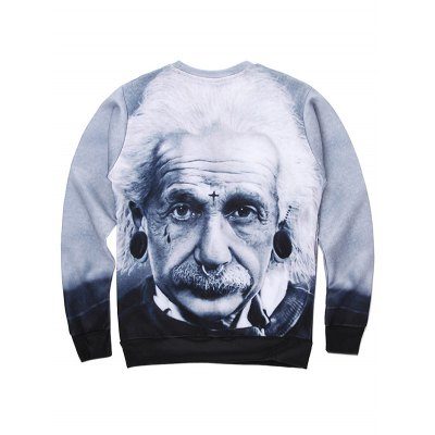 3D Einstein Figure Print Long Sleeve SweatshirtMens Hoodies &amp; Sweatshirts<br>3D Einstein Figure Print Long Sleeve Sweatshirt<br><br>Material: Cotton,Polyester<br>Clothing Length: Regular<br>Sleeve Length: Full<br>Style: Casual<br>Weight: 0.350kg<br>Package Contents: 1 x Sweatshirt