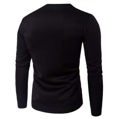 Crew Neck 3D Graphic Emboss Long Sleeve SweatshirtMens Hoodies &amp; Sweatshirts<br>Crew Neck 3D Graphic Emboss Long Sleeve Sweatshirt<br><br>Material: Cotton,Polyester<br>Clothing Length: Regular<br>Sleeve Length: Full<br>Style: Fashion<br>Weight: 0.500kg<br>Package Contents: 1 x Sweatshirt