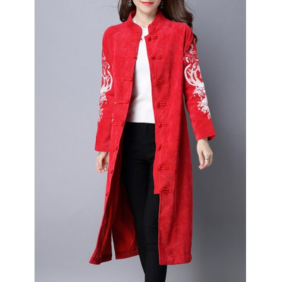 frog-button-embroidered-corduroy-long-coat