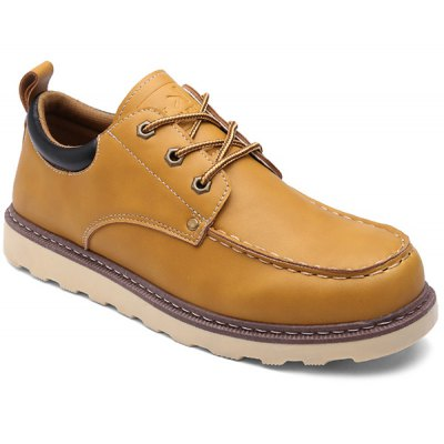 PU Leather Work Shoes