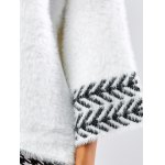best Jacquard Fuzzy Loose Sweater