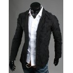 cheap Ripped Open Front Cardigan