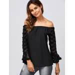 Voile See Through Blouse deal