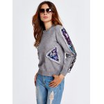 Sequined Patched Thick Knitwear deal
