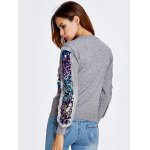 best Sequined Patched Thick Knitwear