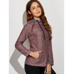Inclined Zipper Front Pocket Hoodie deal