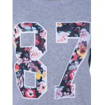 87 Floral Print Pullover Sweatshirt for sale