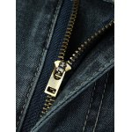 best Zipper Fly Plus Size Vintage Straight Leg Jeans