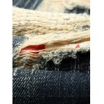 best Zipper Fly Cat's Whisker Distressed Jeans