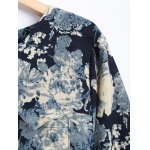 Floral Long Sleeve Vintage Dress deal