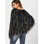 Fringed Colorful Dot Sweater for sale