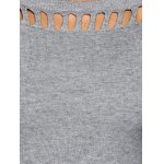 Pullover Hollow Out Knitwear photo