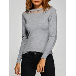 Pullover Hollow Out Knitwear