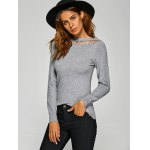 Pullover Hollow Out Knitwear deal
