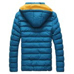 Detachable Hooded Zip-Up Thicken Padded Jacket deal