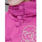 best Ethnic Style Embroidered Padded Coat