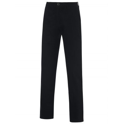 Zipper Fly Straight Leg Casual Chino Pants