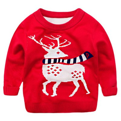 Reindeer Pullover Christmas Sweater