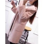 Hooded Convertible Sueded Long Coat deal