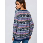 Kangaroo Pocket Tribal Print Sweatshirt for sale
