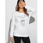 cheap Coffee Cup Letter Funny Sweatshirt
