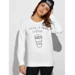 Coffee Cup Letter Funny Sweatshirt deal