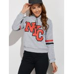 cheap NYC Hoodie With Drawstring
