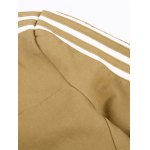 Stripe Edging Stand Collar Zip-Up Jacket for sale