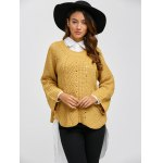 cheap Long Sleeve Pullover Sweater