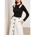Slimming Cut Out Knitwear