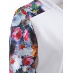Button Up Floral Long Sleeve Jacket deal